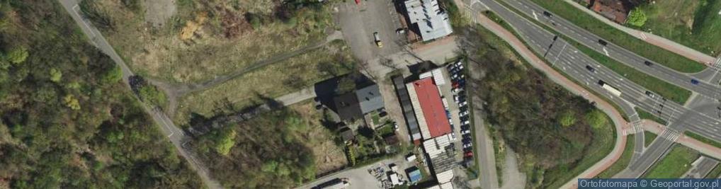 Zdjęcie satelitarne Dąbrowskiego Henryka, gen. 5