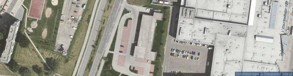 Zdjęcie satelitarne Dąbrowskiej Marii 25