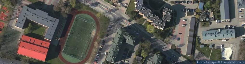 Zdjęcie satelitarne Dąbrówki 12