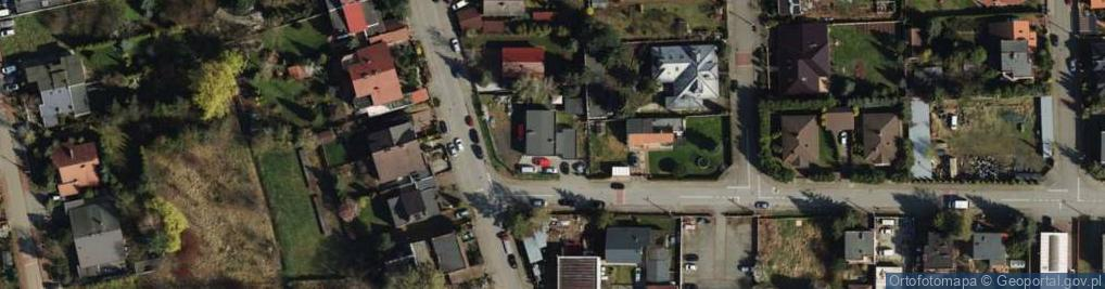 Zdjęcie satelitarne Darłowska ul.