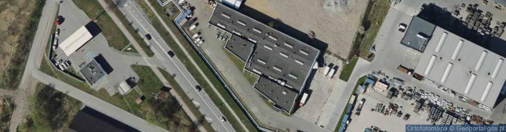 Zdjęcie satelitarne Dąbrowskiego 149