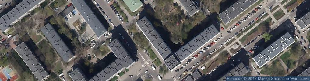 Zdjęcie satelitarne Dąbrowszczaków 12