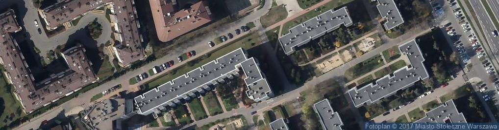 Zdjęcie satelitarne Dembego Stefana ul.