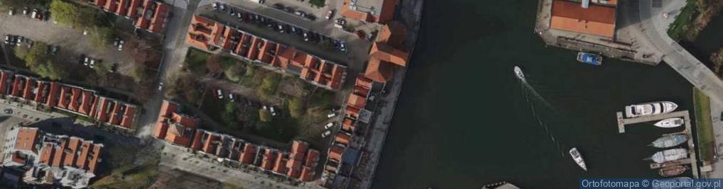 Zdjęcie satelitarne Długie Pobrzeże 30