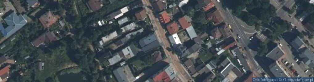 Zdjęcie satelitarne Długa 18