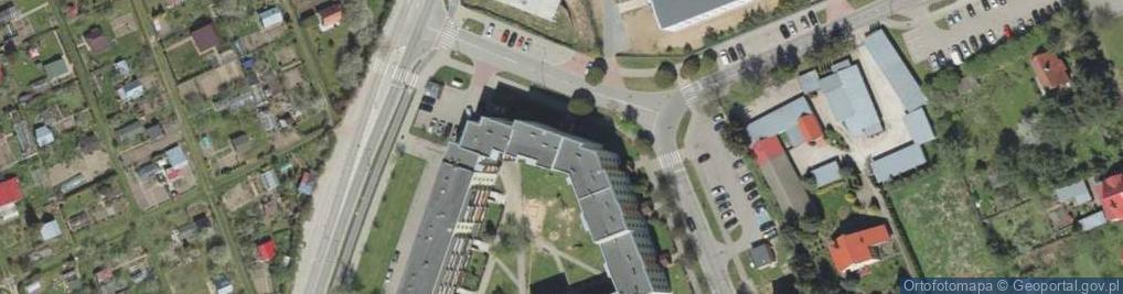 Zdjęcie satelitarne Dobrzańskiego Henryka, mjr. ul.