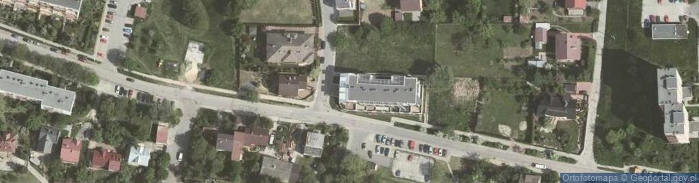 Zdjęcie satelitarne Dobczycka ul.