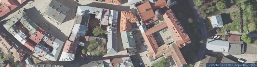 Zdjęcie satelitarne Dominikańska ul.