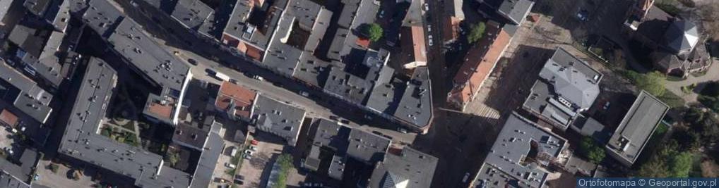 Zdjęcie satelitarne Dworcowa 6