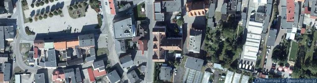 Zdjęcie satelitarne Dworcowa 1