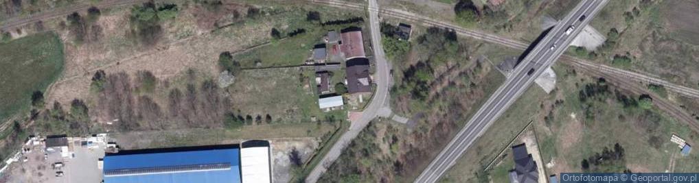 Zdjęcie satelitarne Dworcowa 1a