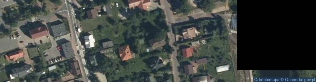 Zdjęcie satelitarne Dworcowa 8B