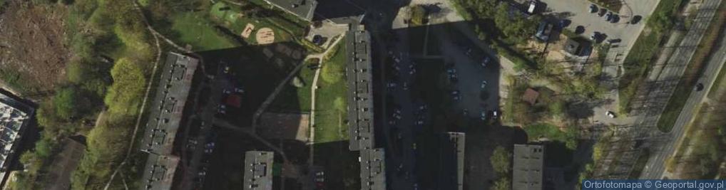 Zdjęcie satelitarne Dworcowa 62