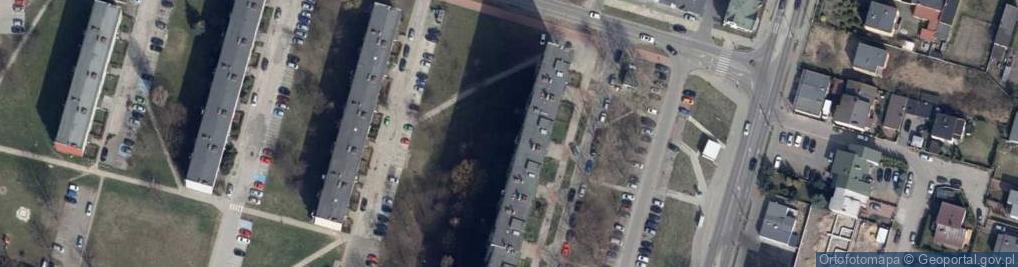 Zdjęcie satelitarne Dzieci Polskich 1