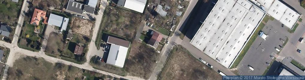 Zdjęcie satelitarne Działkowa 15