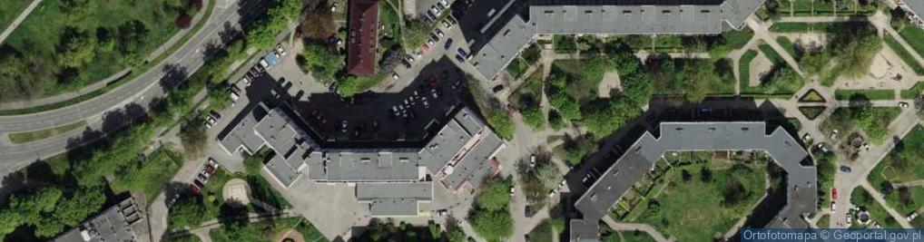 Zdjęcie satelitarne Dzielna 11