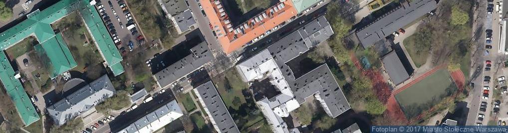 Zdjęcie satelitarne Elektoralna 13