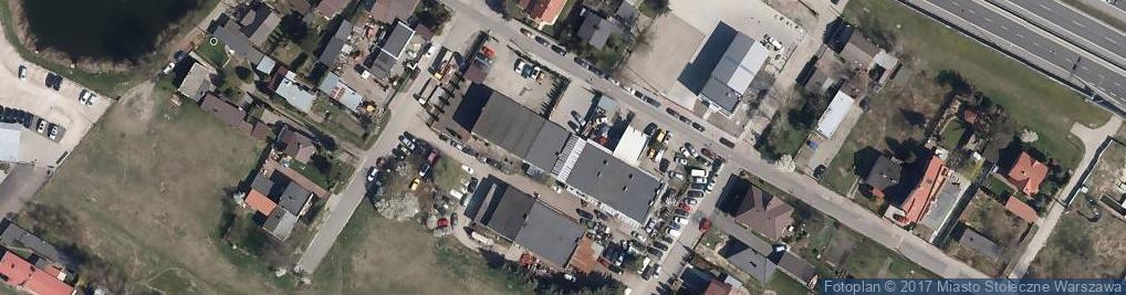 Zdjęcie satelitarne Emaliowa ul.