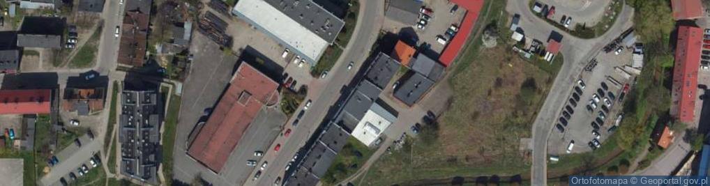 Zdjęcie satelitarne Fabryczna 20