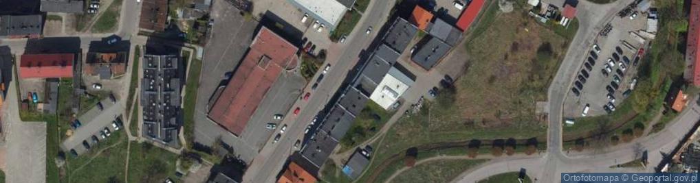 Zdjęcie satelitarne Fabryczna 24