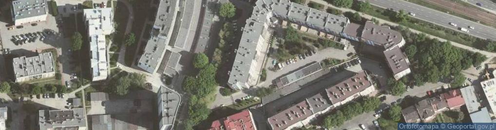Zdjęcie satelitarne Fabryczna 3