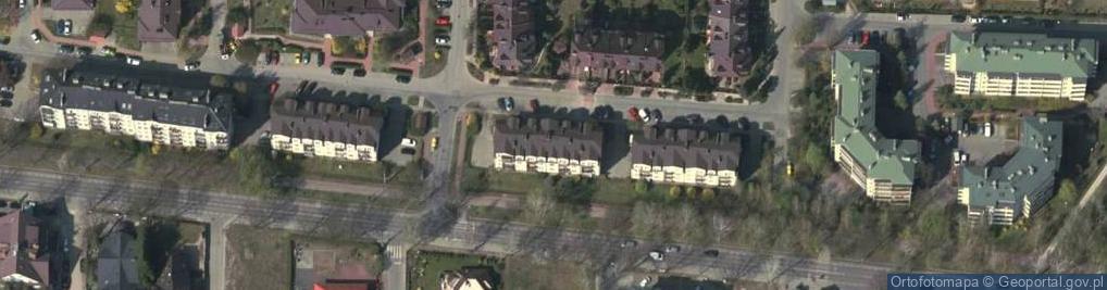 Zdjęcie satelitarne Faraona ul.