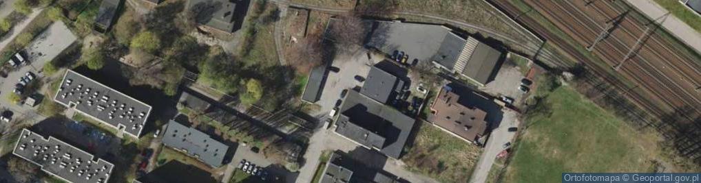 Zdjęcie satelitarne Filomatów ul.