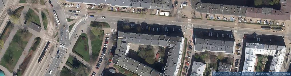 Zdjęcie satelitarne Filtrowa 83