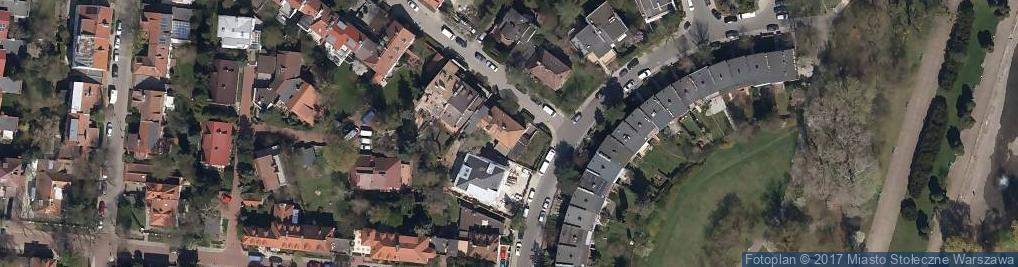 Zdjęcie satelitarne Forteczna 1