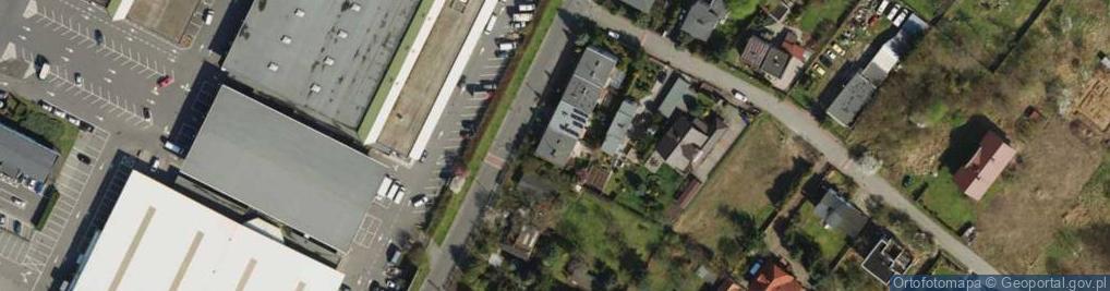 Zdjęcie satelitarne Franowo 8