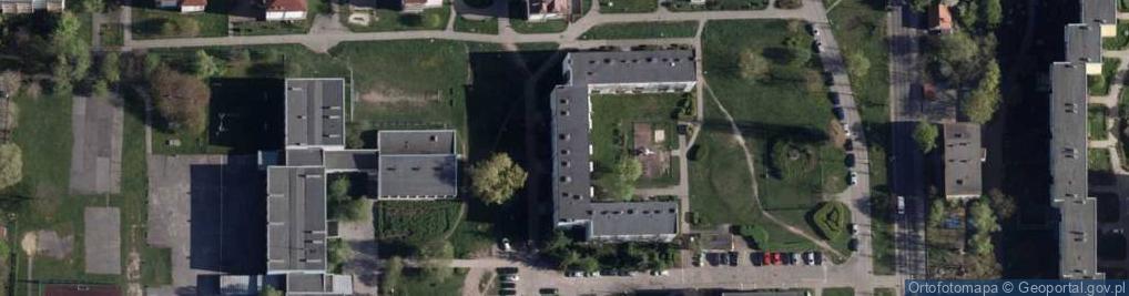 Zdjęcie satelitarne Gackowskiego Teofila ul.