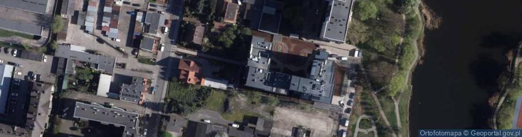 Zdjęcie satelitarne Gajowa ul.