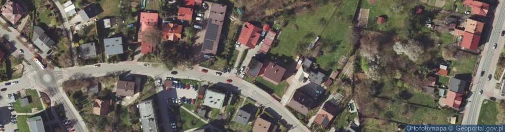 Zdjęcie satelitarne Garbarska 14