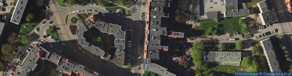 Zdjęcie satelitarne Gajowa 40