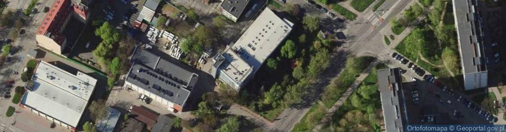 Zdjęcie satelitarne Gajowicka ul.