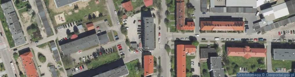 Zdjęcie satelitarne Gdańska ul.