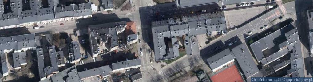 Zdjęcie satelitarne Gdańska 90