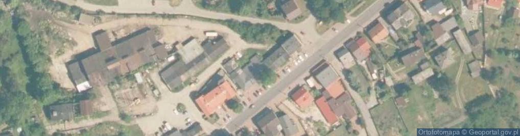 Zdjęcie satelitarne Główna 46