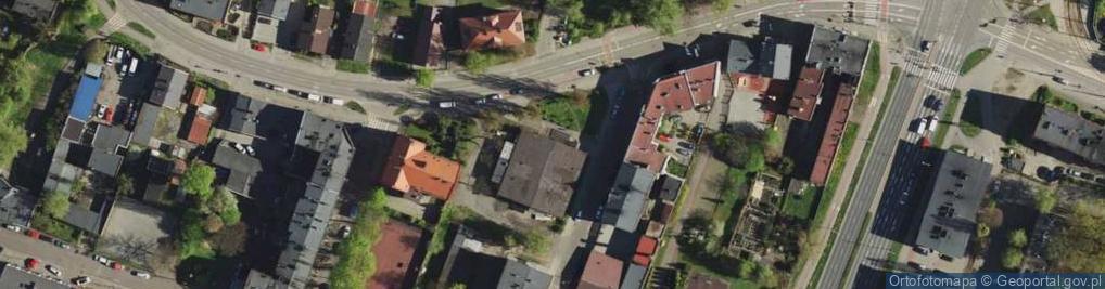 Zdjęcie satelitarne Gliwicka 152