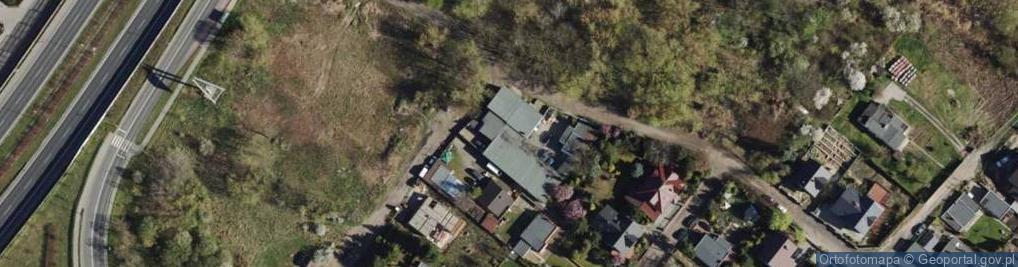 Zdjęcie satelitarne Glinianki ul.