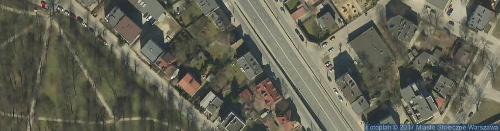 Zdjęcie satelitarne Globusowa 7