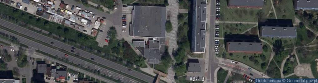 Zdjęcie satelitarne Górnicza 1a
