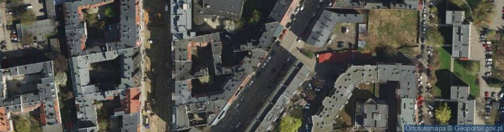 Zdjęcie satelitarne Górna Wilda ul.