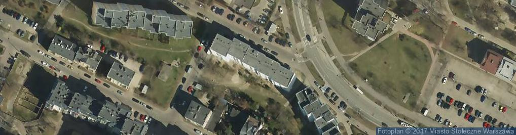 Zdjęcie satelitarne Gościeradowska 1