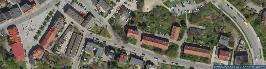 Zdjęcie satelitarne Gorlicka 10