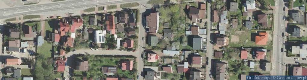 Zdjęcie satelitarne Gródecka 1A