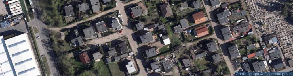 Zdjęcie satelitarne Gradowa ul.
