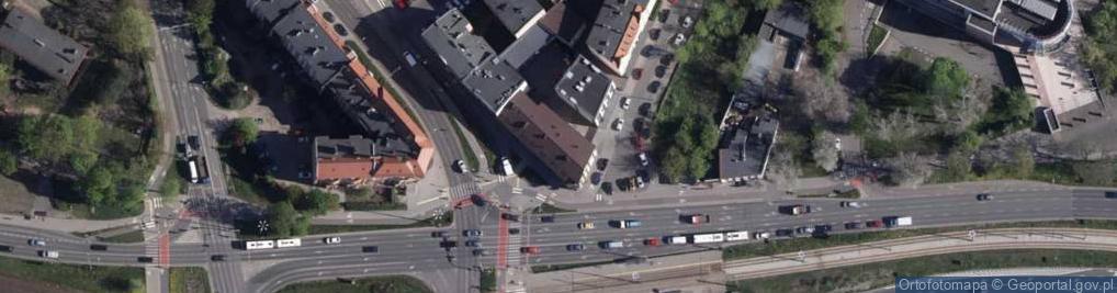 Zdjęcie satelitarne Grunwaldzka 2