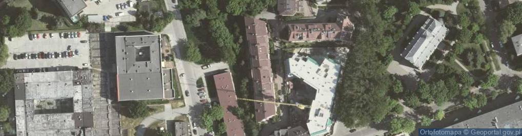 Zdjęcie satelitarne Grzegórzecka ul.