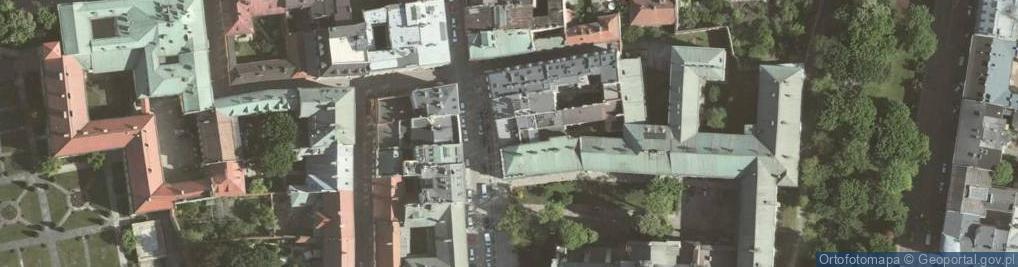 Zdjęcie satelitarne Grodzka 50
